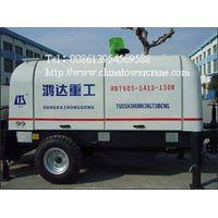 HBT60S1413-130R trailer concrete pump