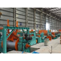 Factory price high precision steel coil flying shear cut to length line