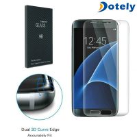 Full Transparency Curved Mobile Screen Protector for Samsung Galaxy S7 Edge thumbnail image