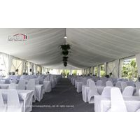 Meeting Tent with Roof Lining and Curtains for Conference