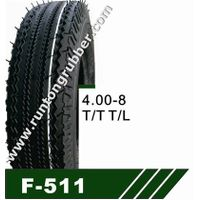 MRF design tricycle tire 4.00-8 135-10 145-10 3.50-10 thumbnail image