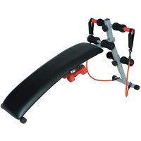 GS-1101 Home AB Sit Up Exercise Equipment Curved folding Sit Up Bench