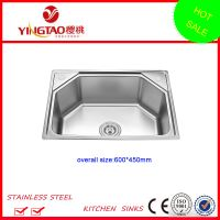 single bowl stainless steel sinks in India