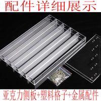 Tabletop polish nail organizer tiers holder storage shelf compact organizer thumbnail image