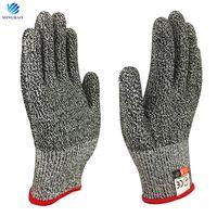 HPPE EN388 Cut Resistant Level 5 Anti Cut Gloves for Kitchen
