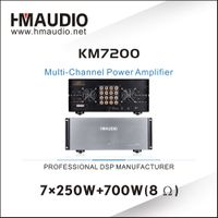 KM7200 New items Multi-Channel Power Amplifier
