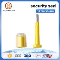 B405 disposable tamper proof seals for containers