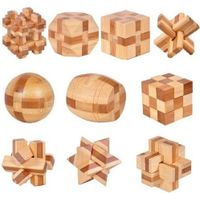 Kongming Ruban Lock Educational Toys Puzzle Adult Children Wooden Toys