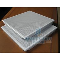 Aluminum ceiling tiles square clip-in type