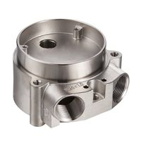 Stainless steel valve parts by investment casting with CNC machining