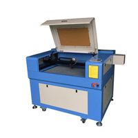 960 co2 laser engraving cutting machine for leather and MDF