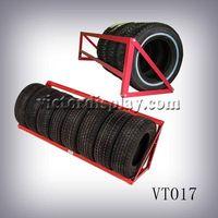 metal tire display stands VT017