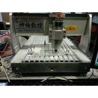 Mini 3030/40409/4060 Desktop CNC Router Wood Carving Machine for Sale thumbnail image