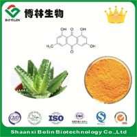 High Quality Chinese Rhubarb Root Extract Emodin Powder 98%