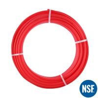 """Pex Pipe 3/4"""" 300FT Coil Non-Oxygen Barrier - Red"""