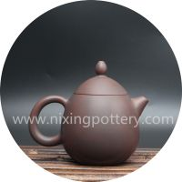 Pot china Pure Hand Engraving Dragon Egg Nixing Pottery Tea Pots Tea Set thumbnail image