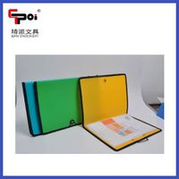 High Quality Cheap Opaque PP Stationery A4 Customized With Elastic Sewing Edge File Folders thumbnail image