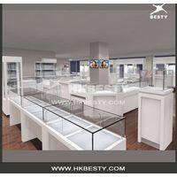 Glasses showcase for optical store