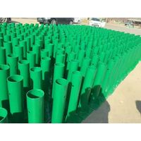 Guardrail post for road barrier from Shandong Guanxian Traffic Facility Factory