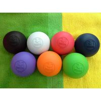 Laser Engraved Rubber NCAA custom lacrosse ball on big sale thumbnail image
