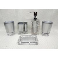 Ice - Bathroom Set (a mysterious silver)