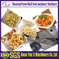 High quality Macaronis pasta noodle making machine/food machine