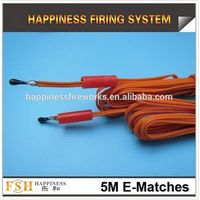 5M Fireworks display Igniter, 5m fireworks electric ignitor, e-matches igniters, electric igniter