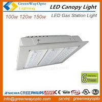 UL DLC LED Canopy Light Gas Station Light 100w 120w 150w