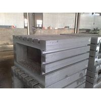 parallelism, perpendicularity inspection T slot cast iron box angle plate