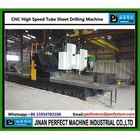 CNC High Speed Tube Sheet Drilling Machine