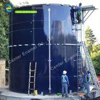 Bolted Steel Grain Storage Tanks With Aluminium Dome Roof thumbnail image