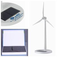 White painting Plastic Solar Windmill for gifts thumbnail image