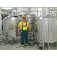 Microbreweries Blonderbeer with capacity of 300, 500, 1000 and more litres per day.