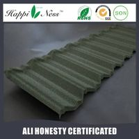 builging material sand coated metal roof tiles