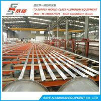 aluminium extrusion cooling table system