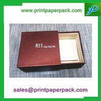 Custom Logo Printed Cardboard Jewelry Gift Box