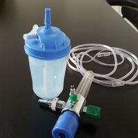 Medical Oxygen Bubble Humidifier Bottles