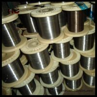 Heat resistant electric wire nickel-chromium wire