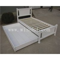(W-B-0097) modern wooden adjustable bed