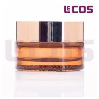 30g Amber Classic Round Cosmetic Glass Jar