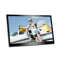 "Video Playback,MP3, 14"" Acrylic Digital photo frame"
