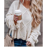 long length fashion knitwear ladies