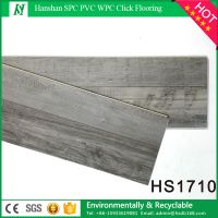 PVC Material and Simple Color Surface Treatment PVC wood flooring