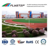 All Weather Use 400m Standard Indoor Outdoor Prefabricated Rubber Jogging Running Track Flooring