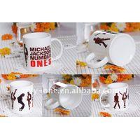 11 oz sublimation coated white/plain mug thumbnail image