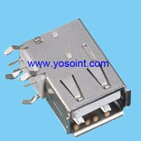 USB 2.0 Connector A Type Female side solder