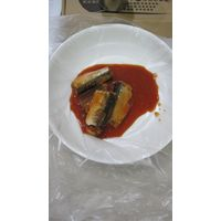 canned mexican morocco sardine in tomato sauce(155g/93g),canned fish manufatcurer, cylinder can, hal
