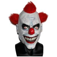 X-MERRY TOY Evil Circus Clown Mask Pennywise Halloween Horror Party Fancy Dress Costume Accessory