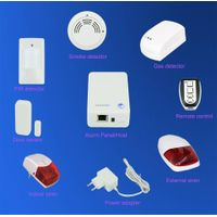 Residential security system intelligent alarm system with IP based thumbnail image