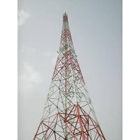 120meters telecommunication lattice steel tower